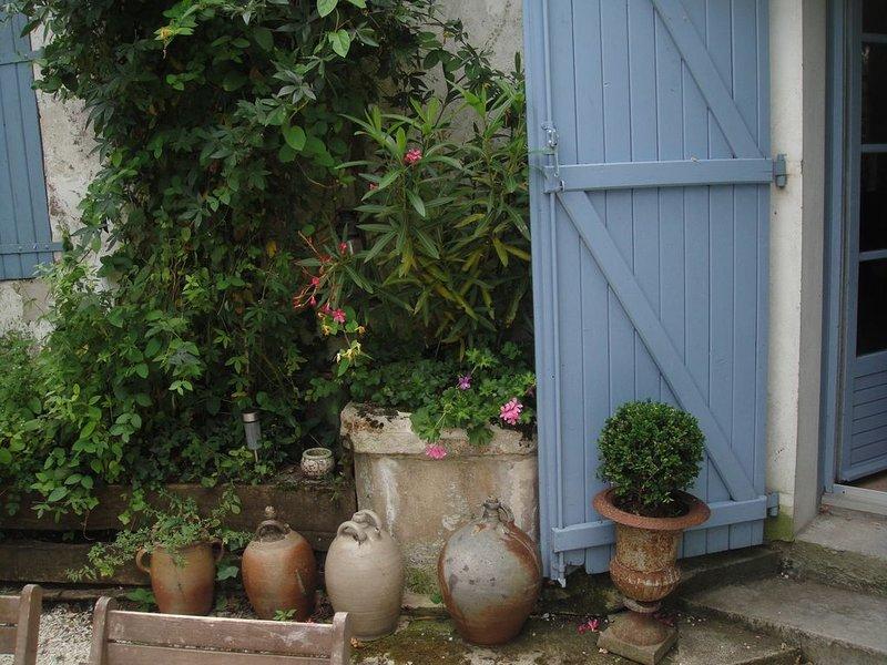 Maison de charme au bord de la Seudre et des marais, alquiler vacacional en La Gripperie-Saint-Symphorien
