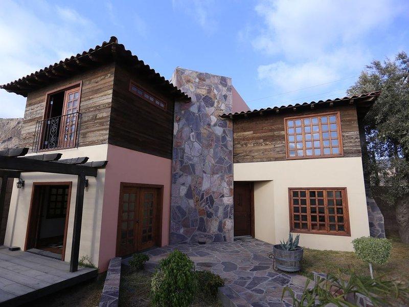 Rancho los cuates la mejor opción, holiday rental in Lengueta Arenosa