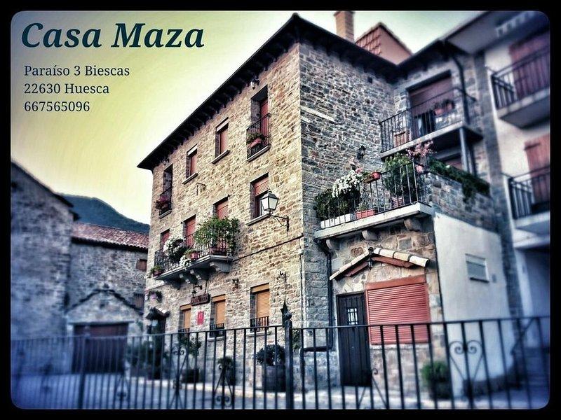 Apartamentos Casa Maza para 2/3 personas, holiday rental in Senegue