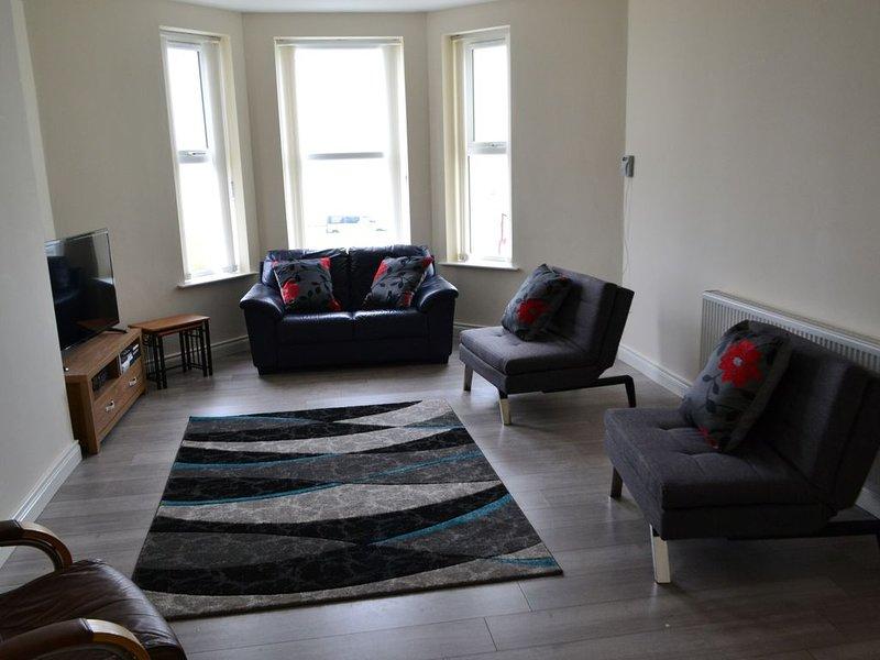 Stunning sea front holiday apartment, location de vacances à Portrush