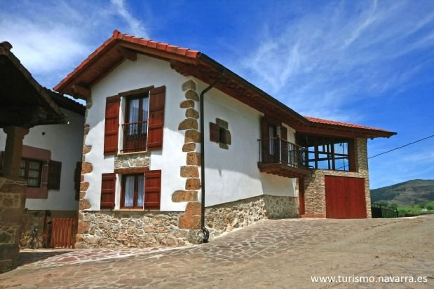 Casa rural (alquiler íntegro) Eltson Etxea para 5 personas, vacation rental in Navarra