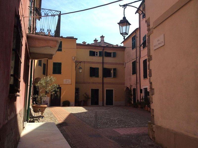 Montemarcello - nell'antico borgo, tipica casa ligure, Ferienwohnung in Bocca di Magra