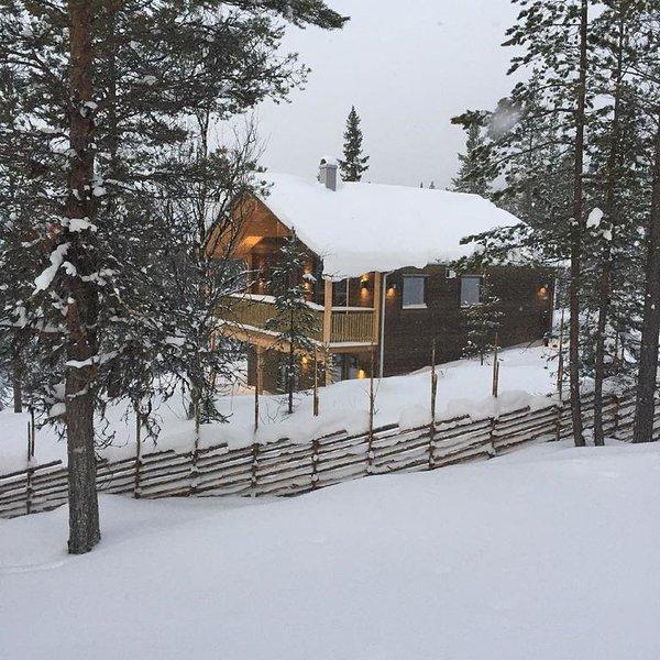 Pistnära nybyggt fjällhus i Skalspasset med hög standard och fin bastu – semesterbostad i Jämtland and Härjedalen
