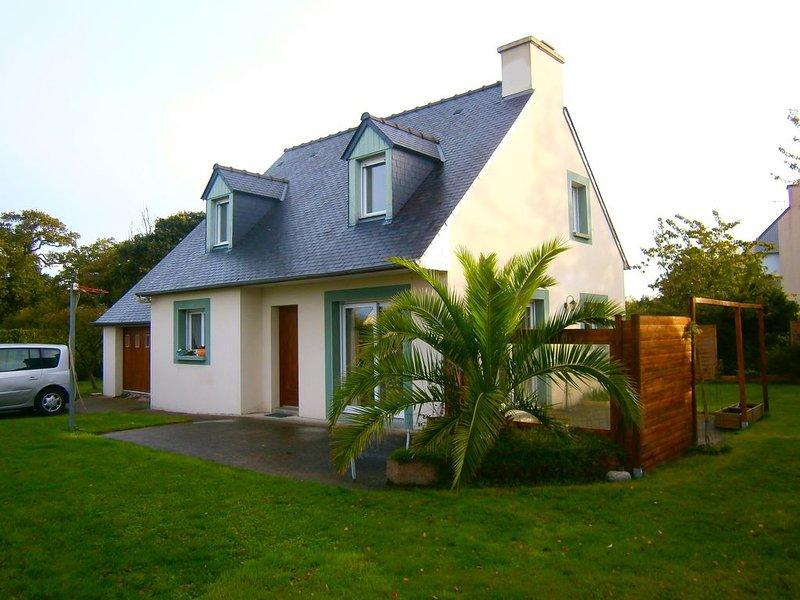 Maison 120m²/Jardin 800m² clos à 5min. plages, golf, alquiler de vacaciones en Saint-Briac-sur-Mer