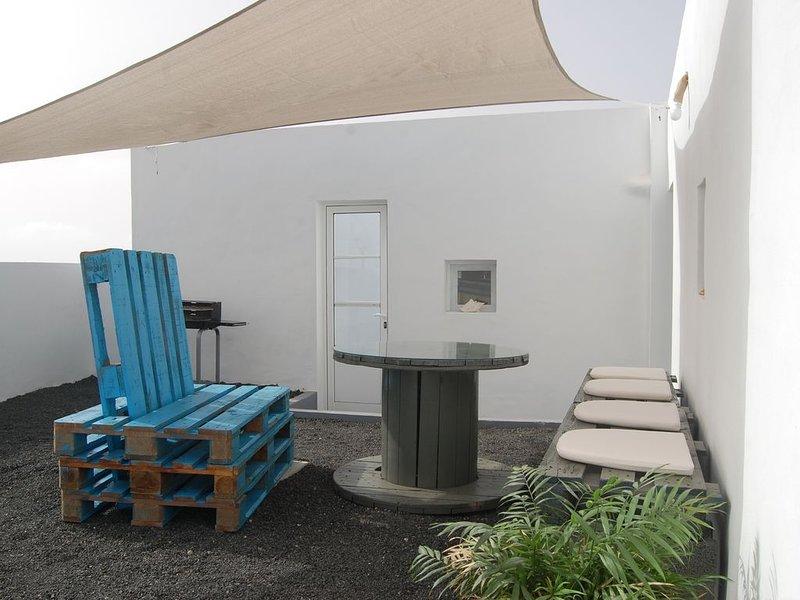 Casa típica canaria  reformada  completamente, aluguéis de temporada em Teseguite