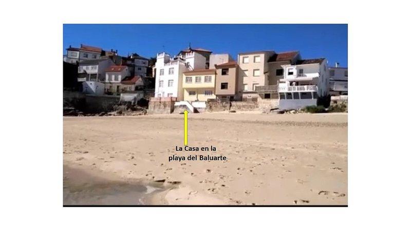 Casa en Palmeira Acceso Privado Playa, holiday rental in Aguino