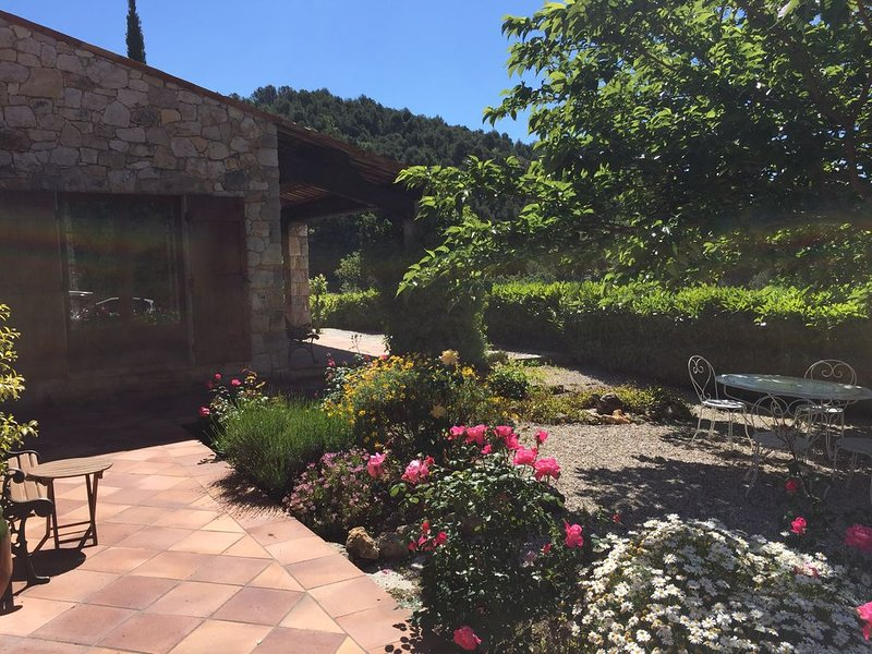 Stunning Provencal Stone House with incredible views and garden, holiday rental in Seillans