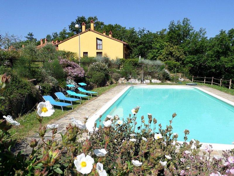 TUSCANY SUN, casa per vacanze vicino a San Gimignano, holiday rental in Gambassi Terme