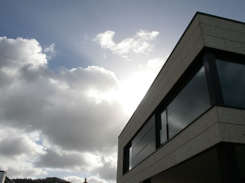the facade