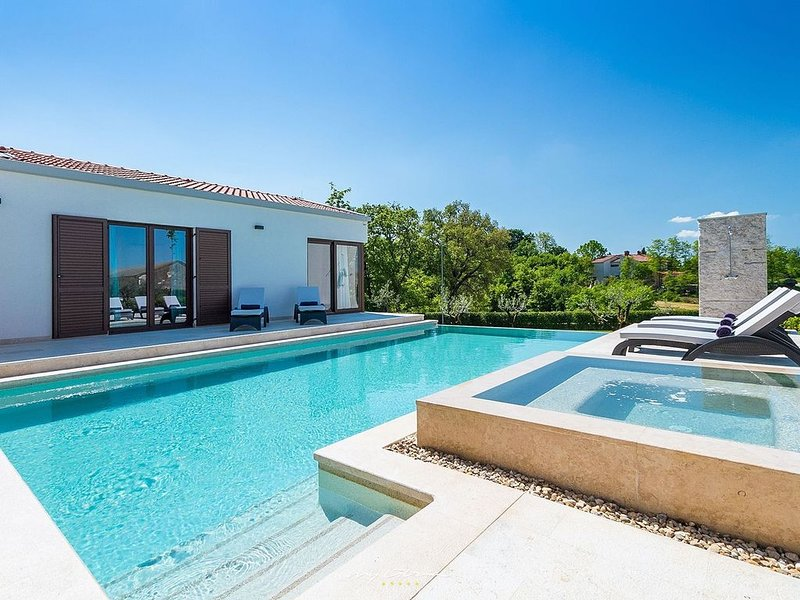Modern villa with private pool in Central Istria, vacation rental in Sveti Petar u Sumi