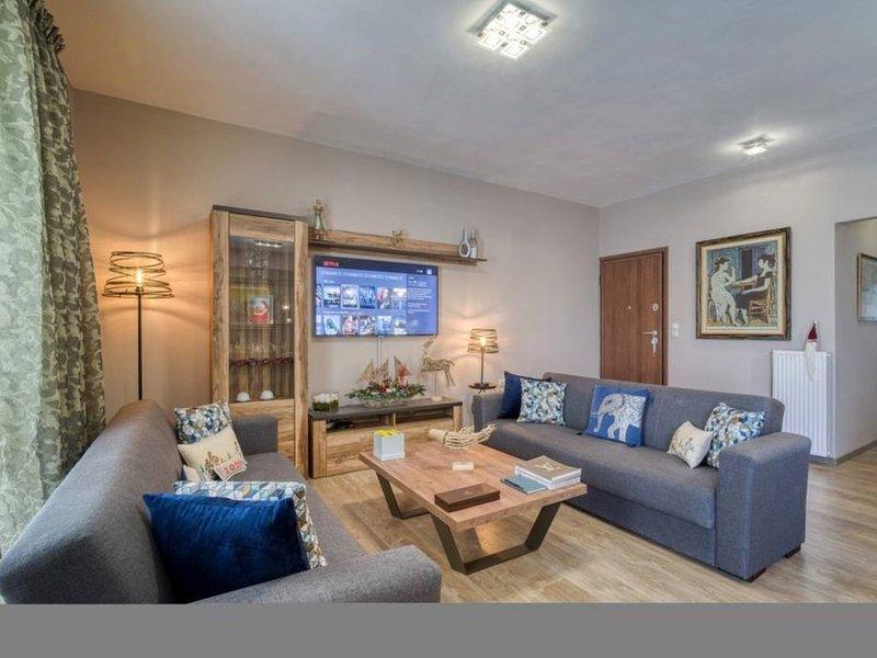 """Akalli"" Luxury Apartment in Heraklion, Crete., vacation rental in Vasilies"