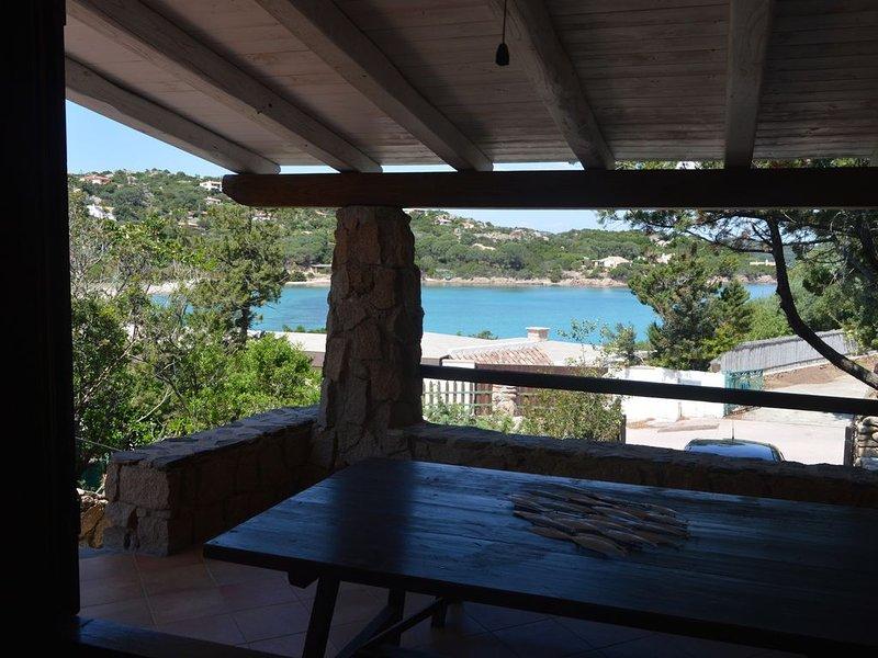 Turtle House in Cala Girgolu, alquiler de vacaciones en Punta Pietra Bianca