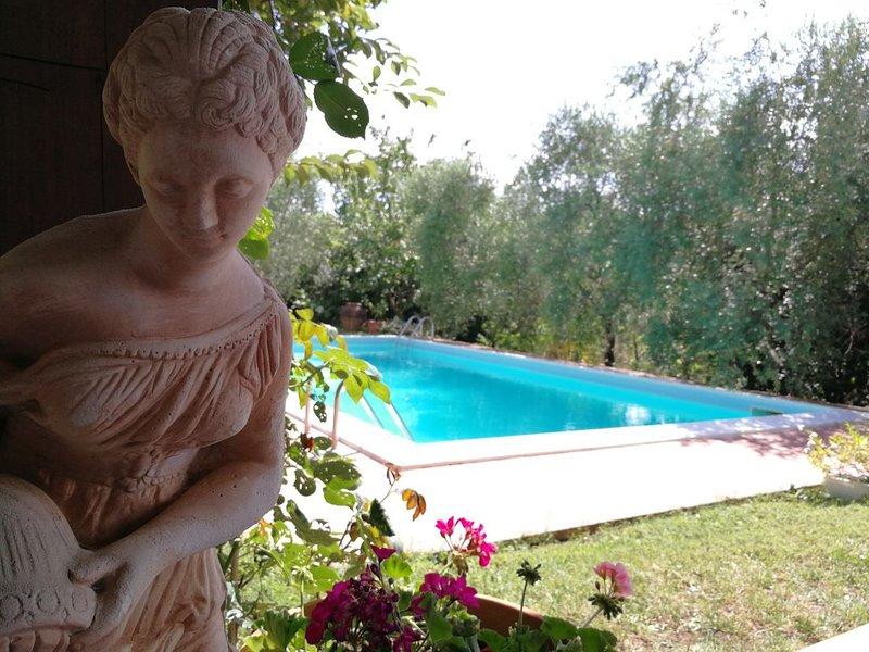 VILLA LA PORTA DEL CHIANTI, holiday rental in Castelnuovo dei Sabbioni