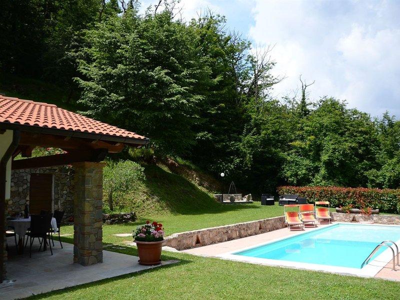La Sella, Pescaglia, Lucca and Viareggio, location de vacances à Pascoso
