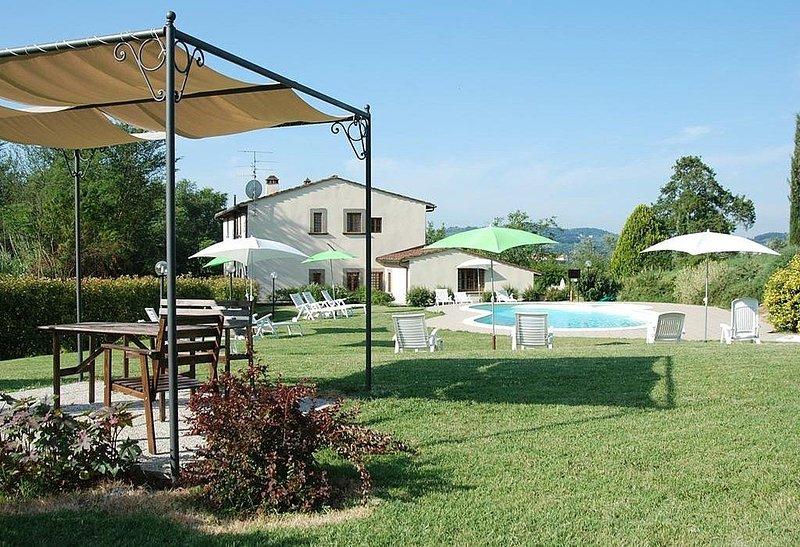 Villa Afrodite A, rimborso completo con voucher*: Un elegante ed accogliente app, vacation rental in Molezzano