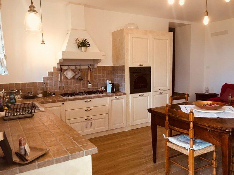 Villa Ca' Doccio near Urbino-San Marino, Ferienwohnung in Monte Grimano Terme
