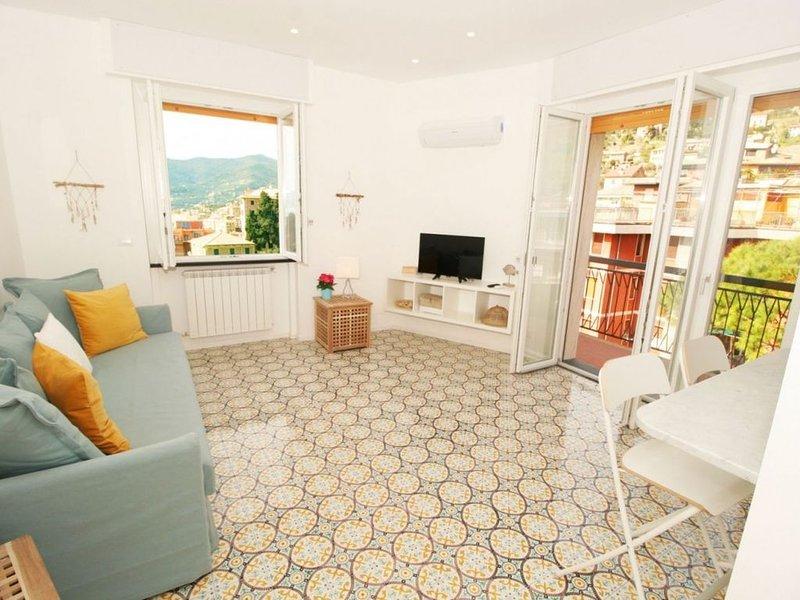 Appartamento nuovo,vista mare, wifi, parcheggio ( CITRA 010007-LT-0281), vacation rental in Camogli