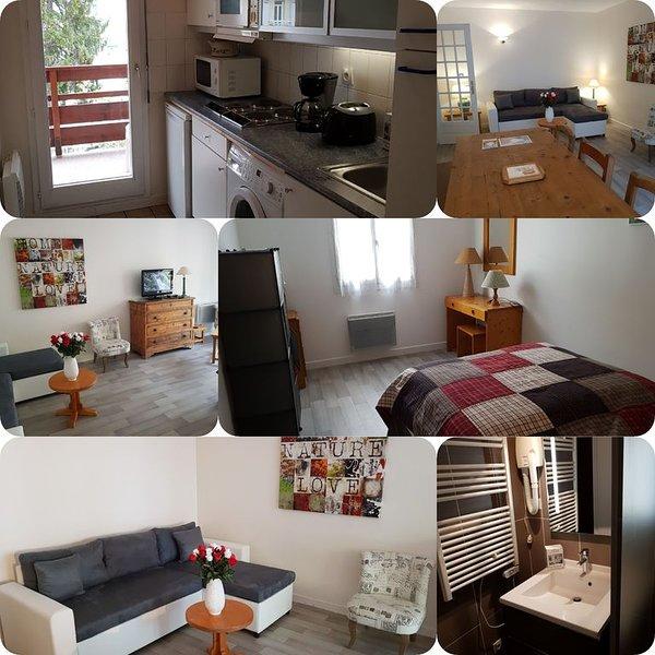 Emplacement de rêve pour cet appartement plein centre de brides les bains, alquiler de vacaciones en Brides-les-Bains