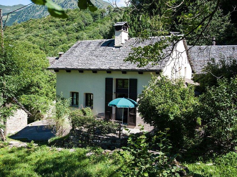 Casa Ponto Aquilesco, für Aktivferien und erholsame Auszeiten, holiday rental in Acquarossa