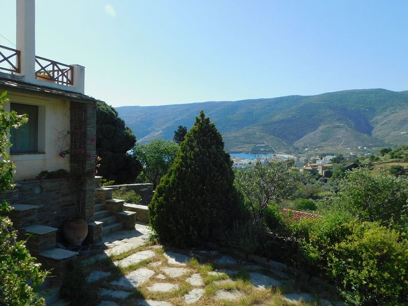 Unique Farm House with superb view!!, holiday rental in Ormos Korthiou