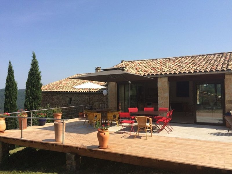 Grande mas entre tradition et modernité, holiday rental in Prades