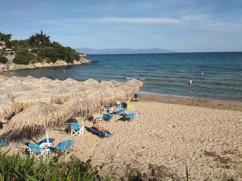 have a nice apartment near to sea!, aluguéis de temporada em Symvoli