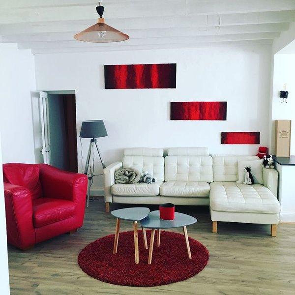 Grande maison familiale 12 à 15 couchages au cœur de campagne Charentaise, holiday rental in Ruffec