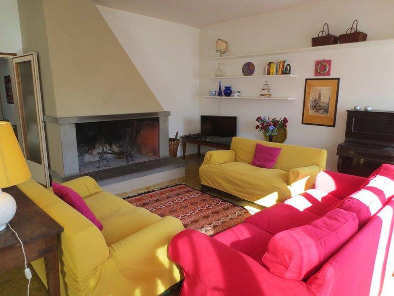 Villa a Firenze in collina, casa vacanza a Fiesole