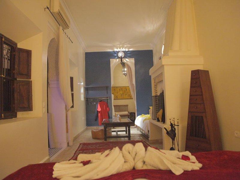 DAR SOHANE : Suite ANDALOUSE 35m2 B&B en Médina, alquiler de vacaciones en Ait Azzi