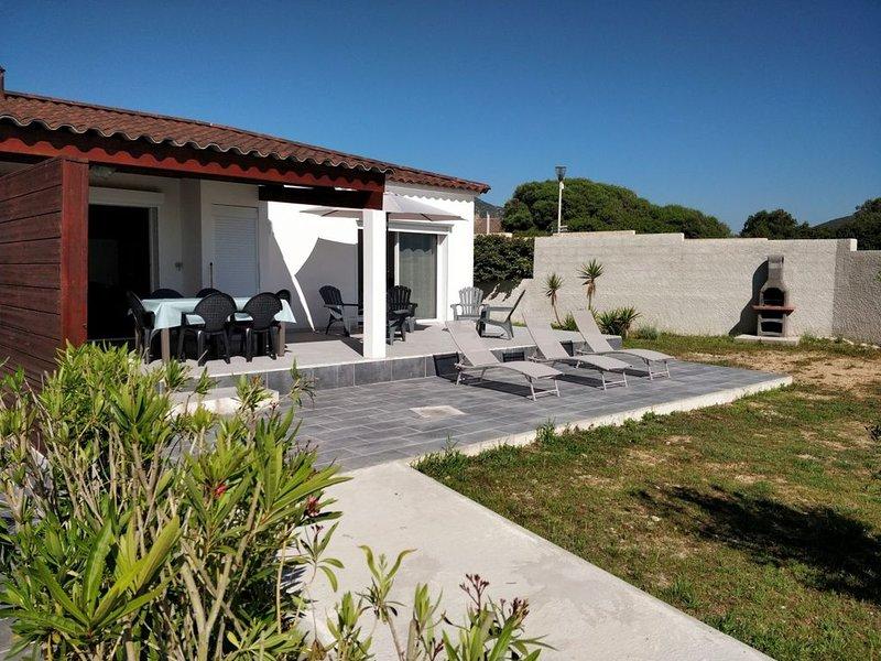 VILLA DE STANDING BORD DE PLAGE, vacation rental in Appietto