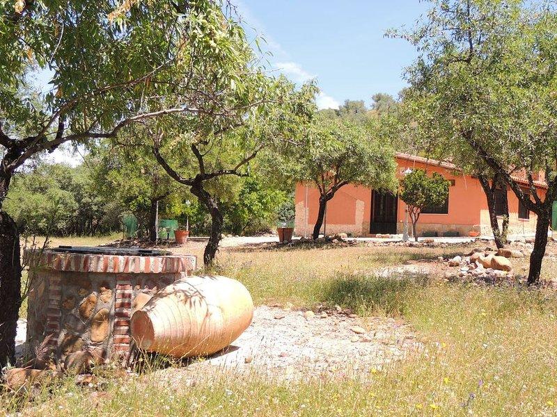 Preciosa Casa en mitad del campo, alquiler de vacaciones en Los Navalucillos