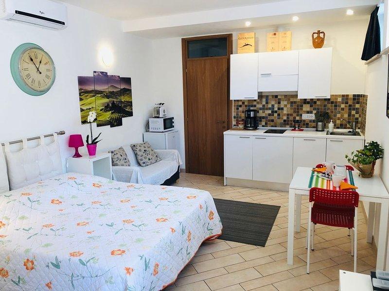 LA DOLCE VITA CASA VACANZE aria condizionata WI-FI pulizia finale gratis, holiday rental in Tognazza