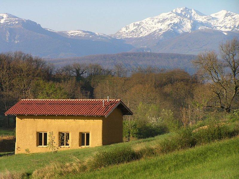 Ecologisch vakantiehuis op 50 minuten van skigebied, alquiler vacacional en Lesparrou
