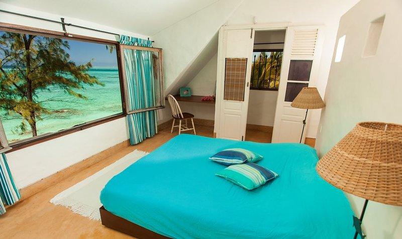 Villa Isabella, Palmar plage coin de paradis! pied dans le lagon turquoise! wifi, vacation rental in Trou d'eau Douce