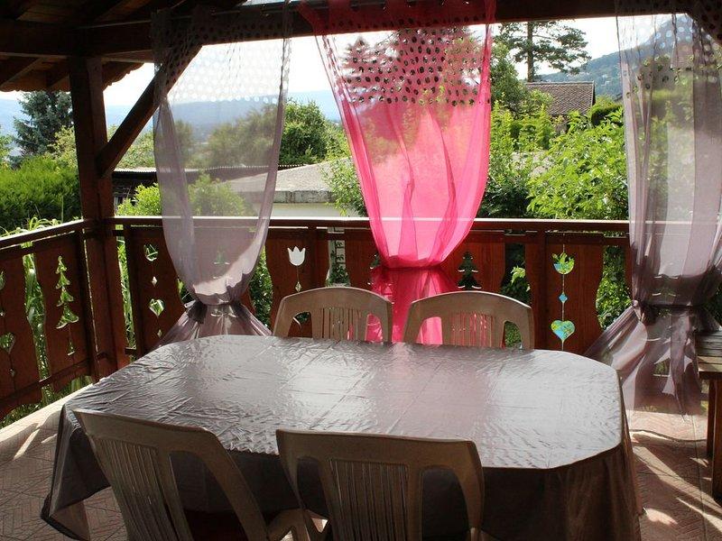 Gite rural - meublé de tourisme 3* Ayze Hte-Savoie, casa vacanza a Onnion