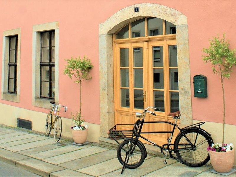 Urlaub mit besonderem Flair vergangener Zeit  mit Garten, location de vacances à Marienberg