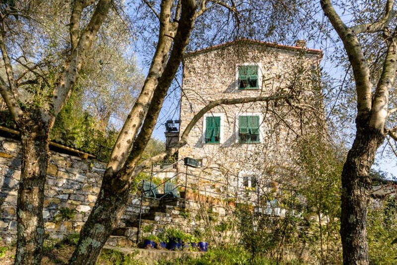 Romantisches Rustico, 2-5 Pers., 3 km zum Strand, Wanderparadies, Haustiere ok, holiday rental in Coreglia Ligure