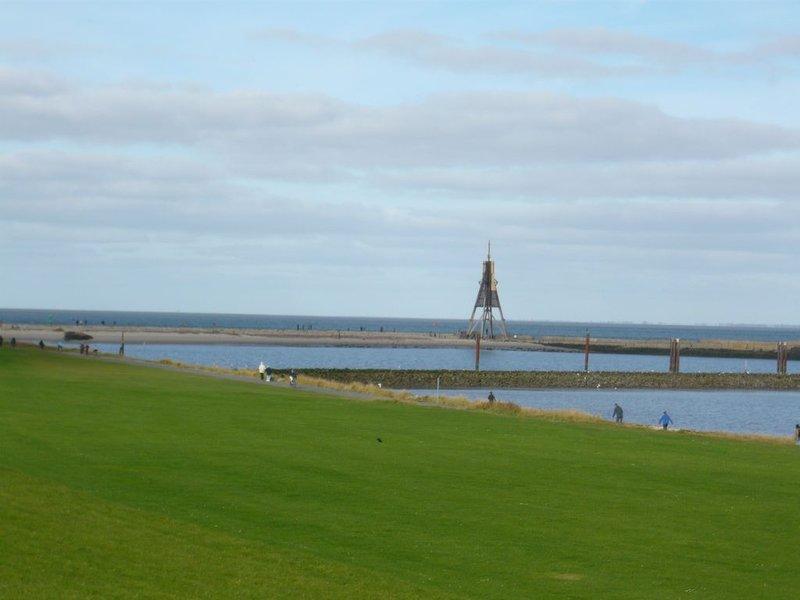 Gemütliche Ferienwohnung, Cuxhaven-Döse, location de vacances à Wanna