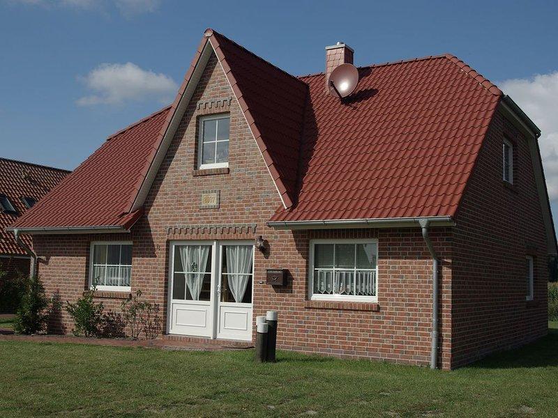 Wellness Ferienhaus mit Sauna und Kaminofen am Siel, location de vacances à Emden