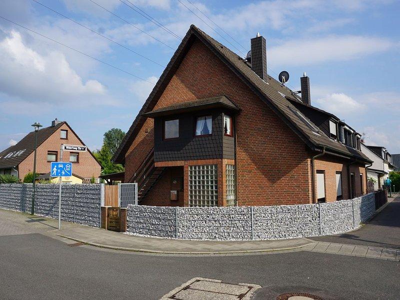 60 qm Wohnung nähe Uni 10 Minuten bis zur City, holiday rental in Düsseldorf