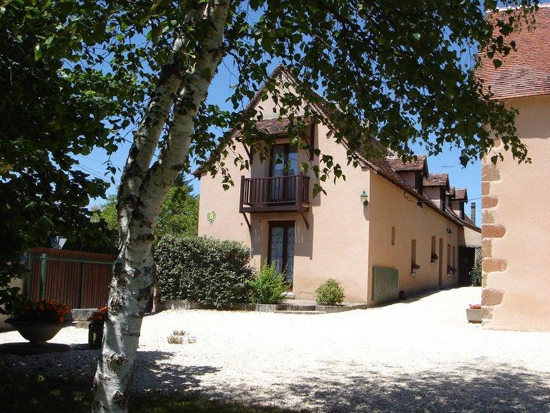 Le Bihoreau, classé 3*, dans une longère abritant 2 gîtes au coeur de la Brenne, location de vacances à Mézières-en-Brenne