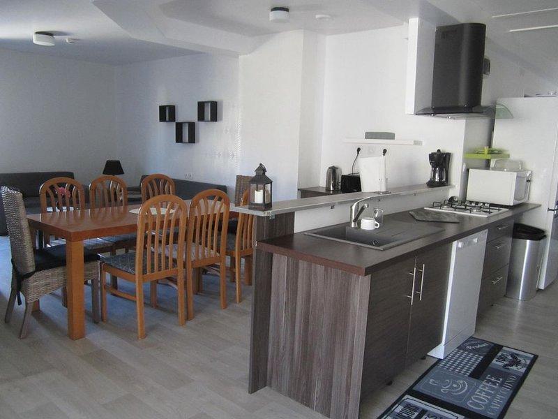 Appartement de 5 chambres, location de vacances à Noizé