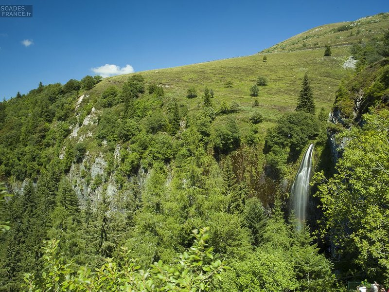 The big waterfall of Mont Dore