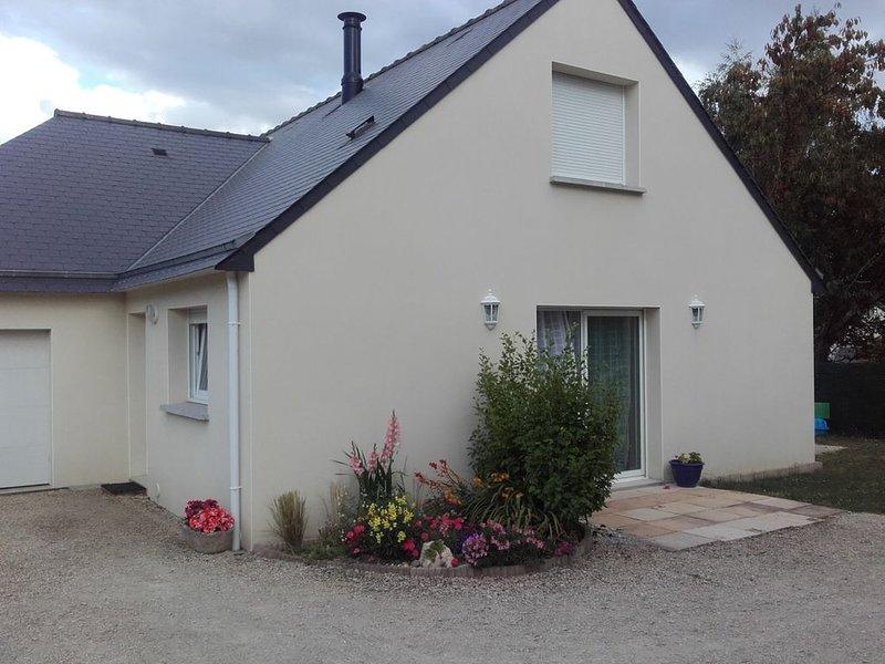 Maison à Theix, Bretagne , proche vannes, entrée du golfe du Morbihan, alquiler de vacaciones en Sulniac
