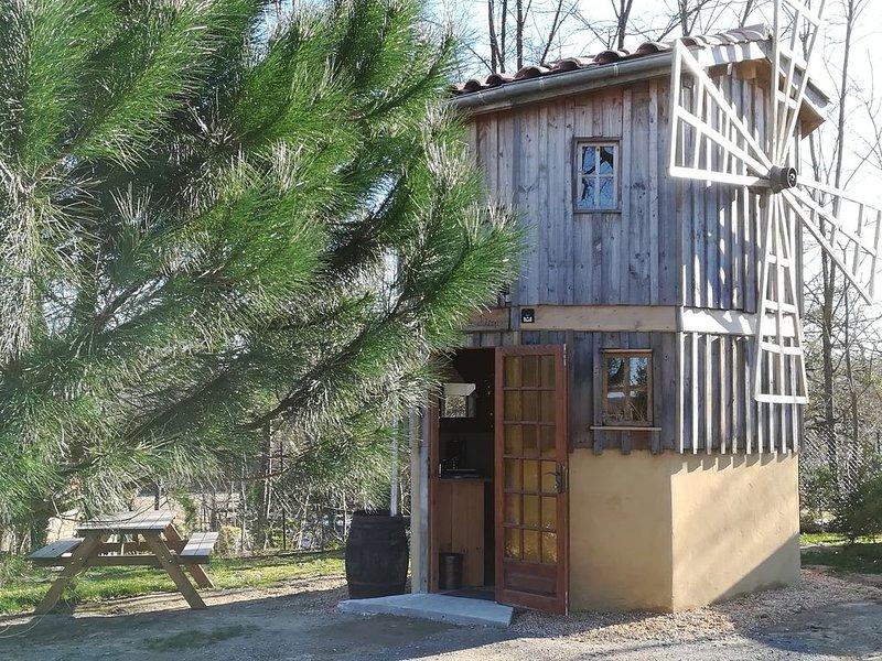 Le moulin de Ricou 3personnes, holiday rental in Caupenne-d'Armagnac