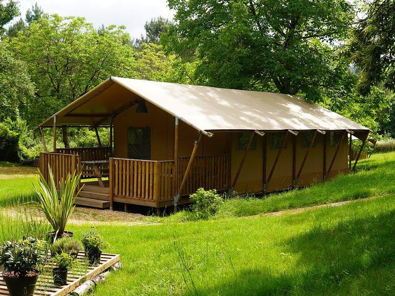 Gîte 6p grand confort dans beau domaine avec piscine, holiday rental in Molieres