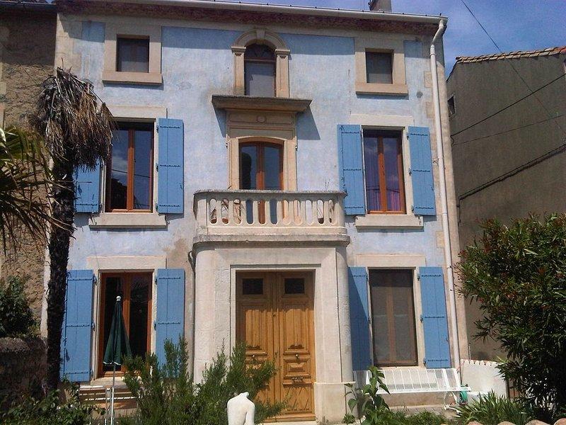 Maison d'Alice Paraza, Canal du Midi, holiday rental in Paraza
