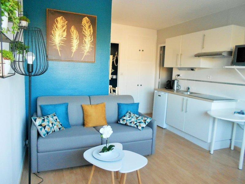 ---L' AIGUE MARINE---(300 m de la Plage..) Classé 2��, vacation rental in Fontaine-Henry