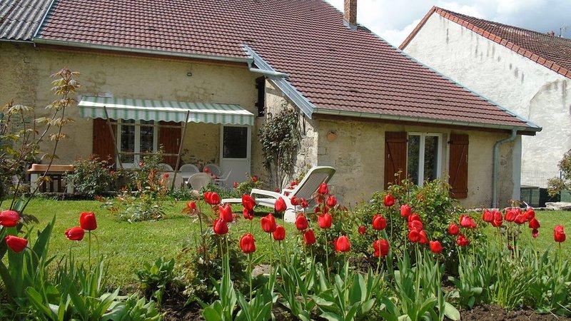 La Vieille Cabane, maison ancienne, location de vacances à Baume-les-Messieurs