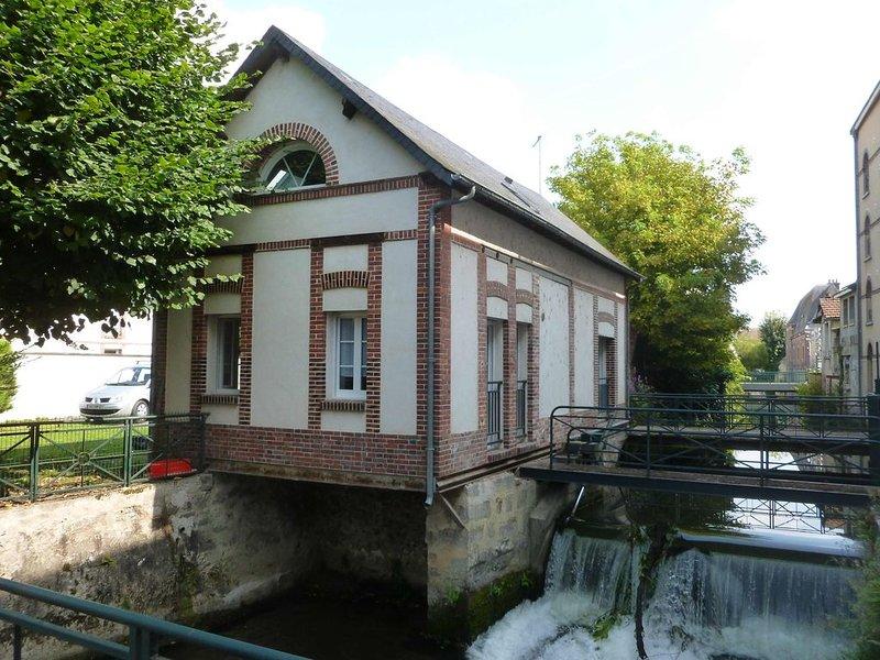 Gîte l'Atelier du moulin, en vallée Royale de l'Eure, location de vacances à Eure-et-Loir